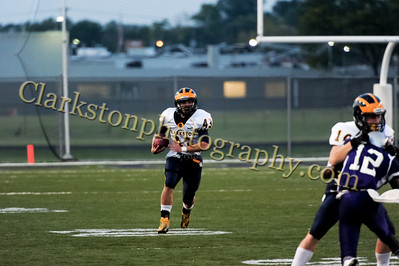 2013 Clarkston Varsity Football vs  Pontiac Creek  065