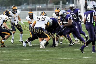 2013 Clarkston Varsity Football vs  Pontiac Creek  014