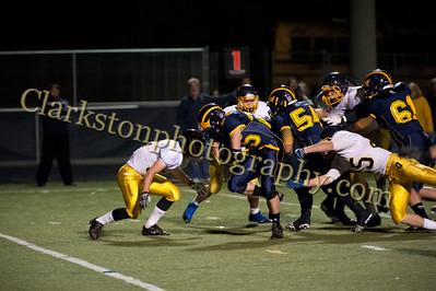 2013 Clarkston Varsity Football vs  Oxford  021