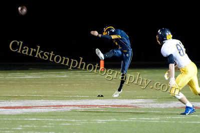 2013 Clarkston Varsity Football vs  Oxford  004