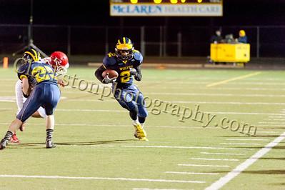 2013 Clarkston Varsity Football vs Romeo Image  036
