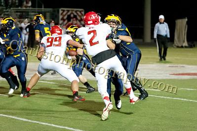 2013 Clarkston Varsity Football vs Romeo Image  047