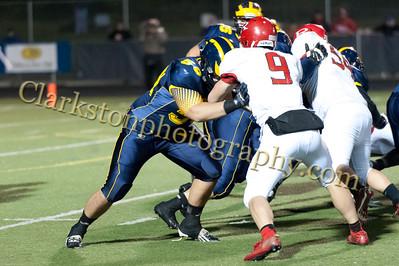 2013 Clarkston Varsity Football vs Romeo Image  080