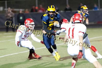 2013 Clarkston Varsity Football vs Romeo Image  073