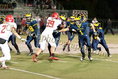 2013 Clarkston Varsity Football vs Romeo Image  046