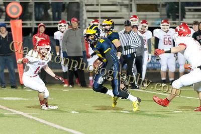2013 Clarkston Varsity Football vs Romeo Image  049