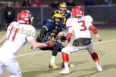 2013 Clarkston Varsity Football vs Romeo Image  071
