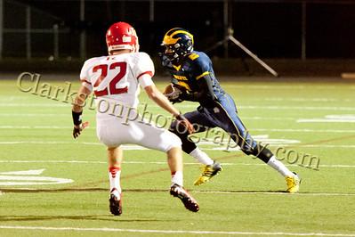 2013 Clarkston Varsity Football vs Romeo Image  031