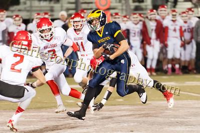 2013 Clarkston Varsity Football vs Romeo Image  043