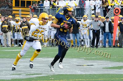 2013 Clarkston Varsity Football vs  Adams Playoffs  0130