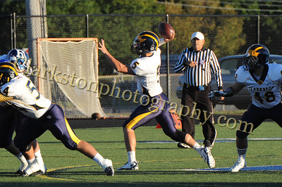 2013 Clarkston Varsity Football vs  Rochester Image 033