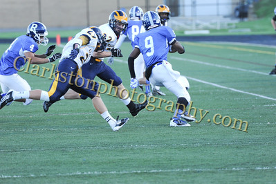 2013 Clarkston Varsity Football vs  Rochester Image 082