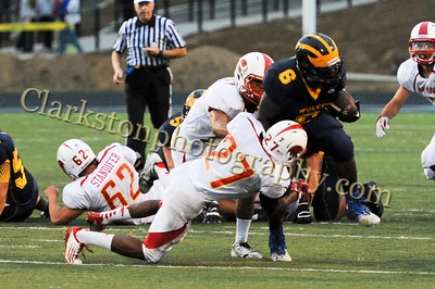 2013 Clarkston Varsity Football vs  Athens Image 029