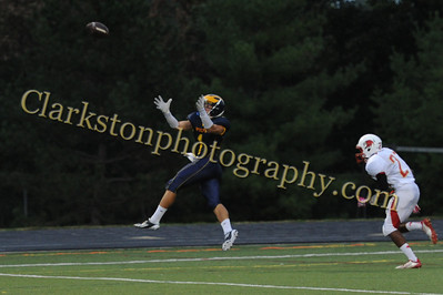 2013 Clarkston Varsity Football vs  Athens Image 003