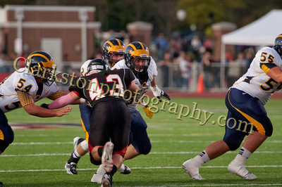 2013 Clarkston Varsity Football vs  Troy  082