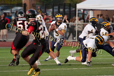 2013 Clarkston Varsity Football vs  Troy  040