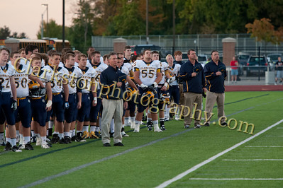 2013 Clarkston Varsity Football vs  Troy  010