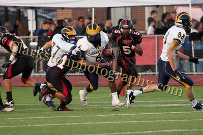 2013 Clarkston Varsity Football vs  Troy  022
