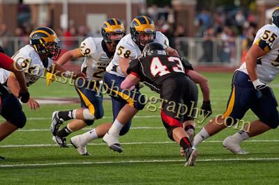 2013 Clarkston Varsity Football vs  Troy  081