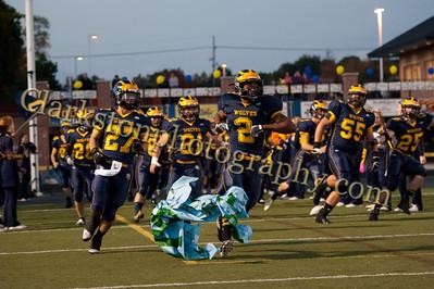 2013 Clarkston Varsity Football vs  Lake Orion  034