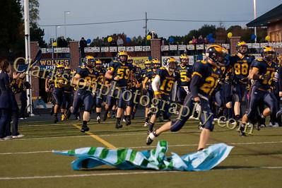 2013 Clarkston Varsity Football vs  Lake Orion  036