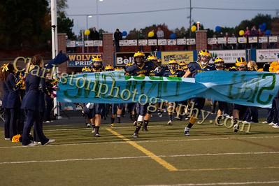 2013 Clarkston Varsity Football vs  Lake Orion  029