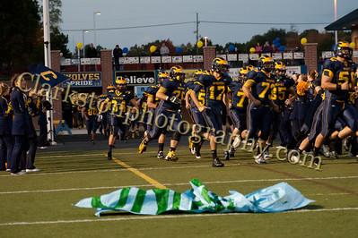 2013 Clarkston Varsity Football vs  Lake Orion  042