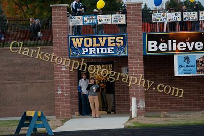 2013 Clarkston Varsity Football vs  Lake Orion  028