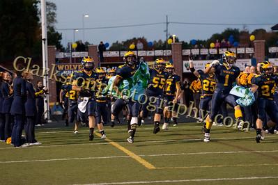 2013 Clarkston Varsity Football vs  Lake Orion  031