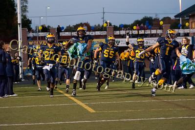 2013 Clarkston Varsity Football vs  Lake Orion  032