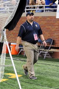 2013 Clarkston Varsity Football vs  CC  0100