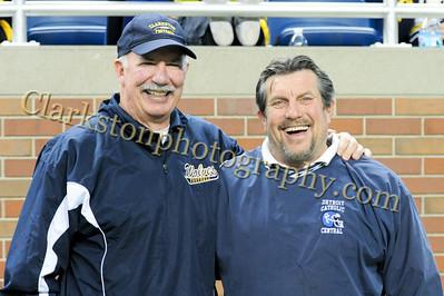 2013 Clarkston Varsity Football vs  CC  0058