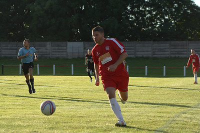 Johnstone Burgh 1 Greenock Juniors 1 Central Sectional League Cup Keanie Park 07/08/2013 John Sherry