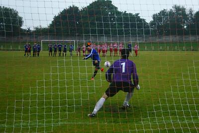 Johnstone Burgh 1 Troon 1 (4-3 pens), Johnstone Burgh Tournament Semi Final, 19th July 2014