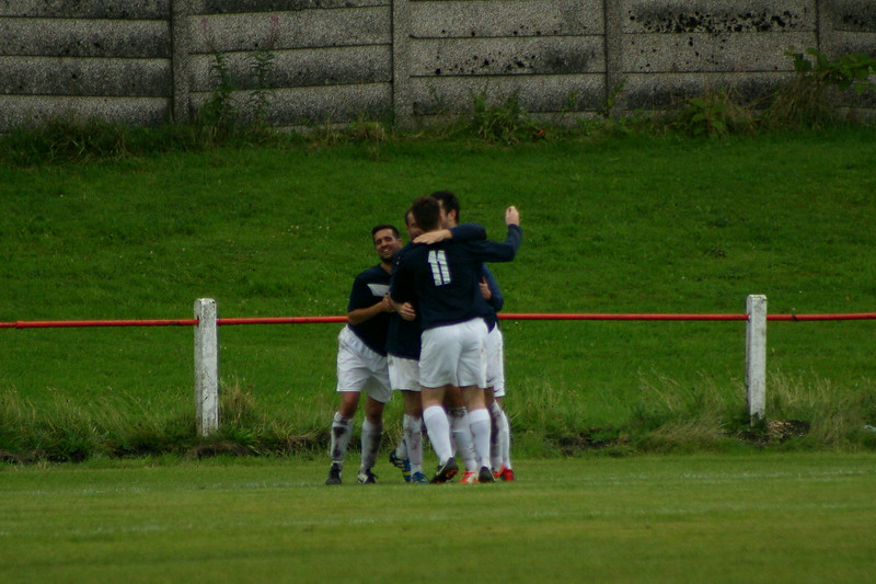 Johnstone Burgh 2 Vale of Leven 3<br /> Central Sectional League Cup<br /> Keanie Park<br /> 16/08/2014<br /> Vale make it 3-1 to clinch the game
