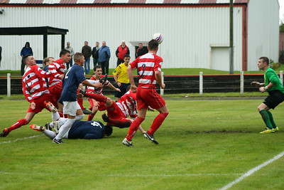 Johnstone Burgh 2 Vale of Leven 3 Central Sectional League Cup Keanie Park 16/08/2014 Burgh almost make it 2-2