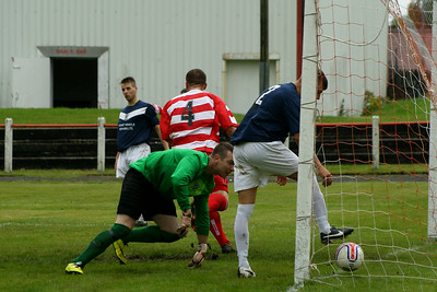 Johnstone Burgh 2 Vale of Leven 3 Central Sectional League Cup Keanie Park 16/08/2014 Burgh pull it back to 2-1