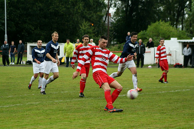 Johnstone Burgh 2 Vale Of Leven 3, Central Sectional League Cup, 16th August 2014