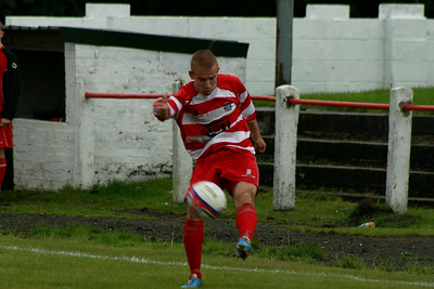 Johnstone Burgh 2 Vale of Leven 3 Central Sectional League Cup Keanie Park 16/08/2014 Neil Dinnen