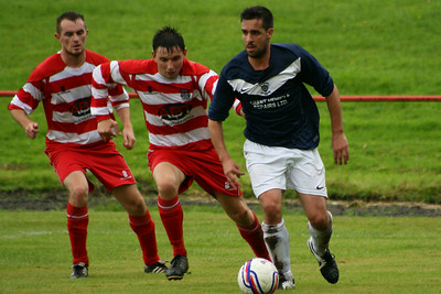 Johnstone Burgh 2 Vale of Leven 3 Central Sectional League Cup Keanie Park 16/08/2014