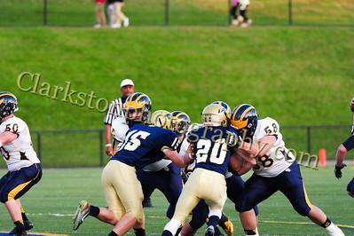 2014 Clarkston Football vs  Stoney Creek 070
