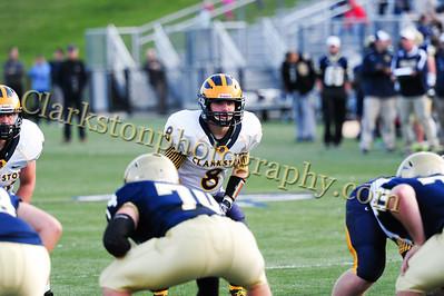 2014 Clarkston Football vs  Stoney Creek 099