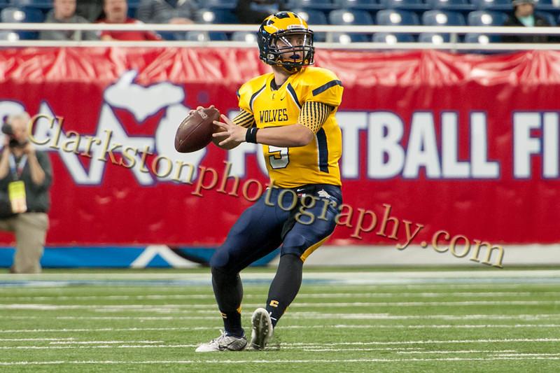 2014 Clarkston Varsity Football vs  Saline 236