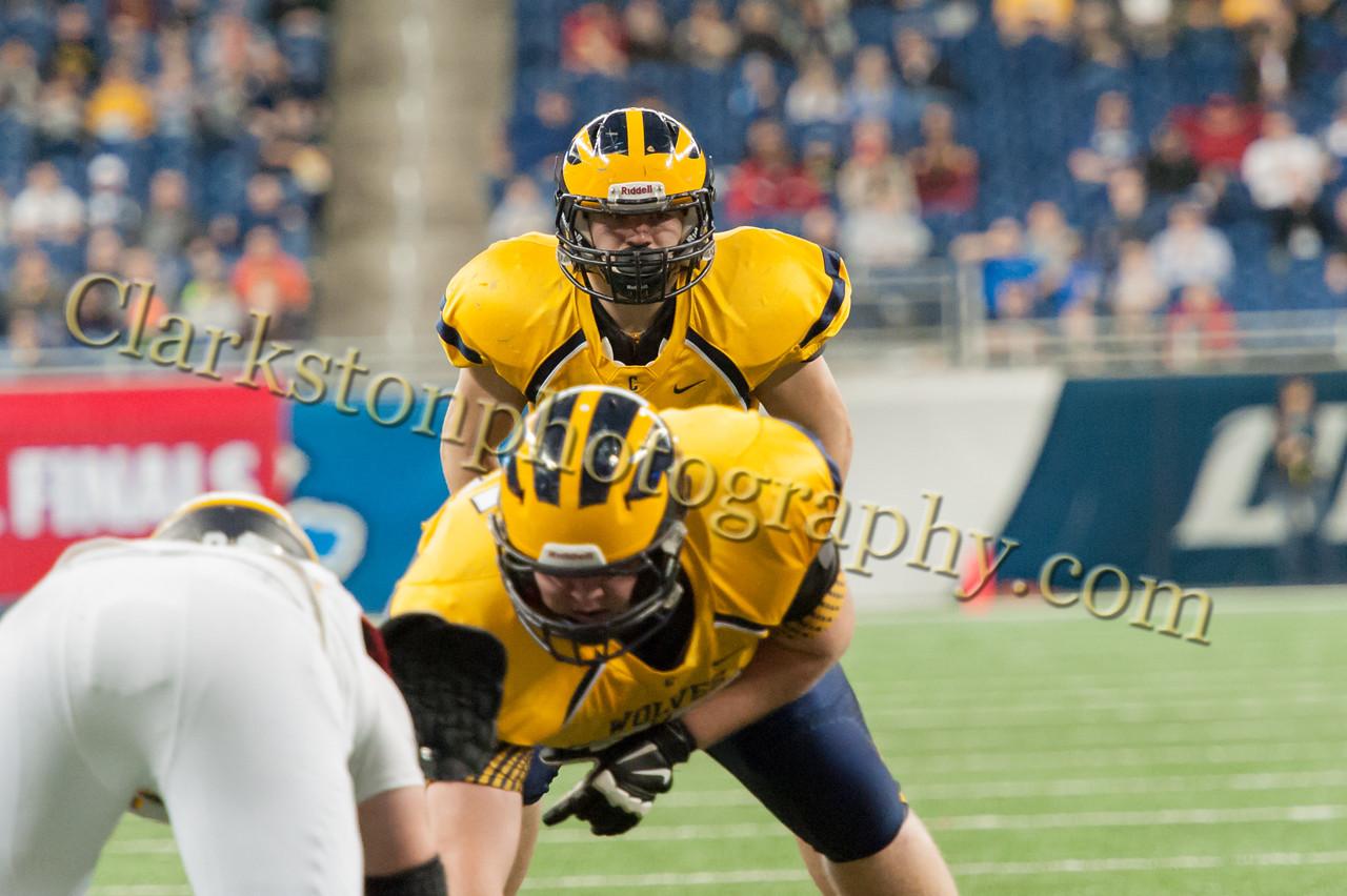 2014 Clarkston Varsity Football vs  Saline 289