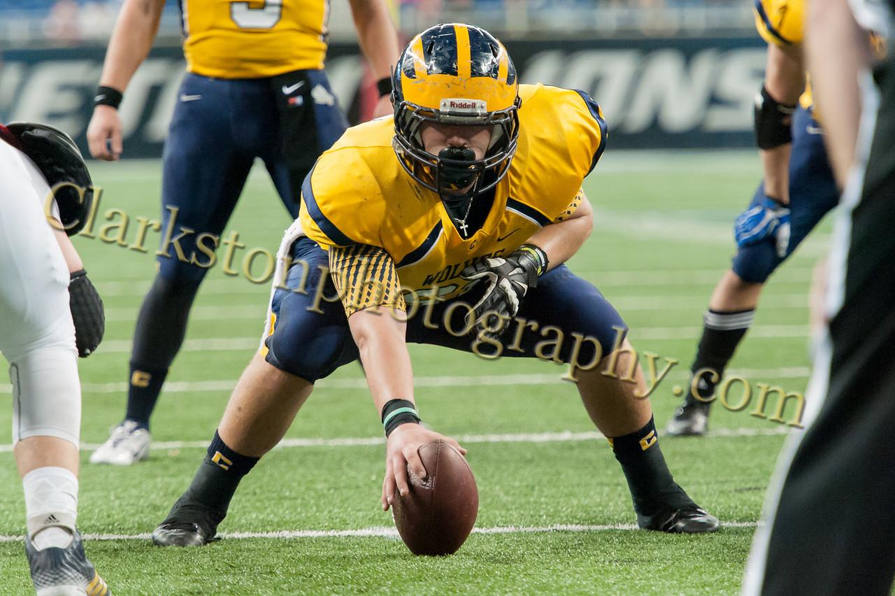 2014 Clarkston Varsity Football vs  Saline 297