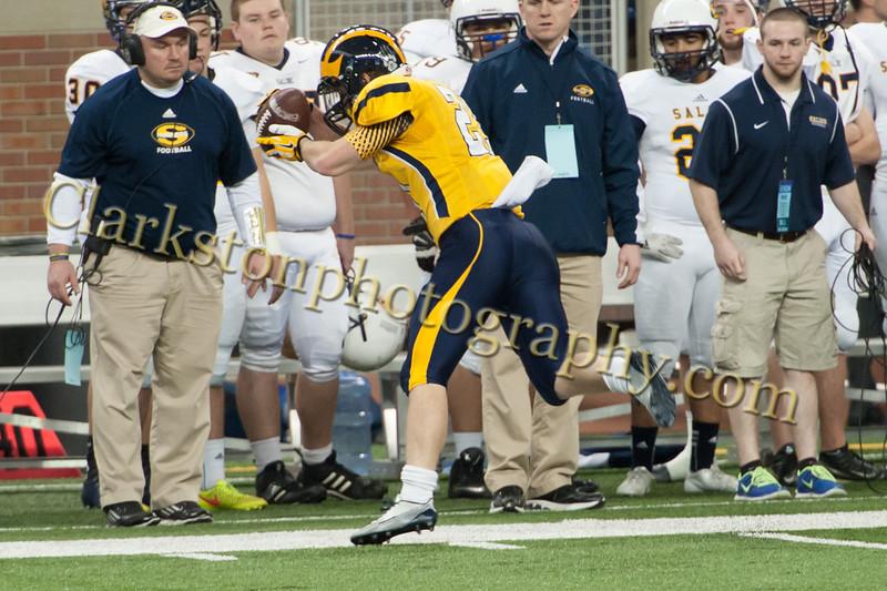 2014 Clarkston Varsity Football vs  Saline 163