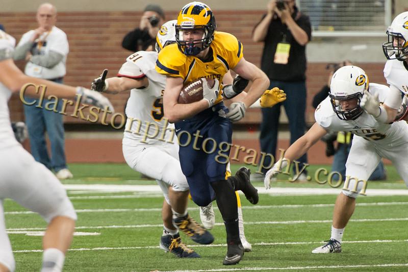 2014 Clarkston Varsity Football vs  Saline 248