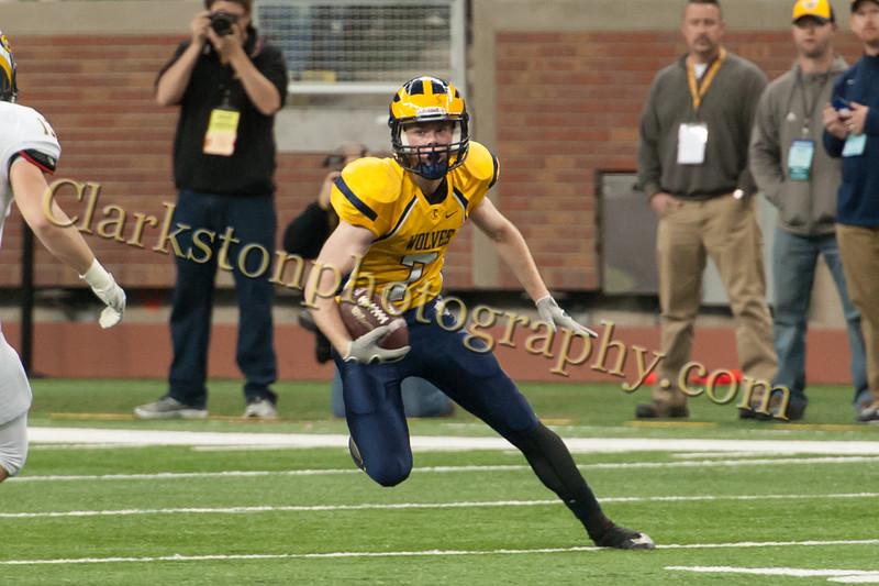 2014 Clarkston Varsity Football vs  Saline 244