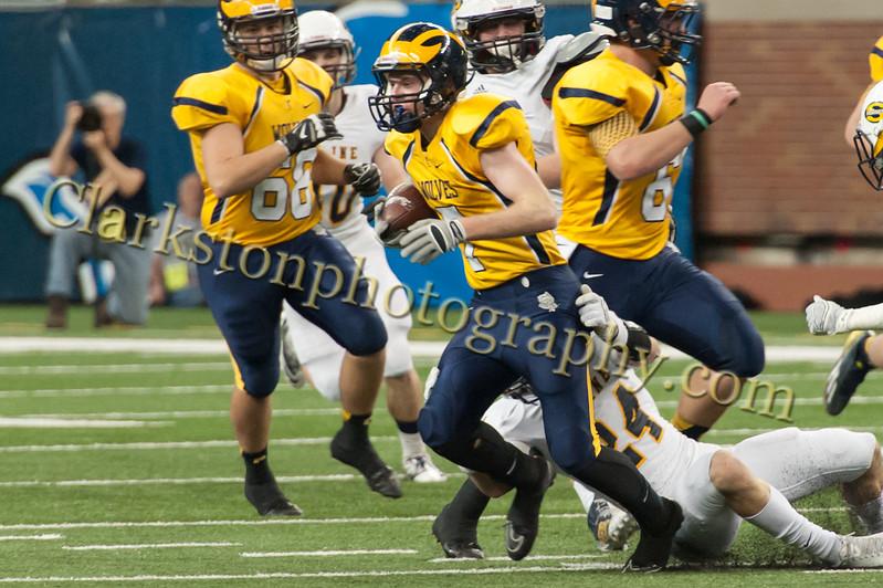 2014 Clarkston Varsity Football vs  Saline 251