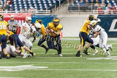2014 Clarkston Varsity Football vs  Saline 548